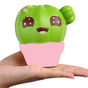 Squishy Cactus Scented Jumbo Slow Rising Relief Toy -