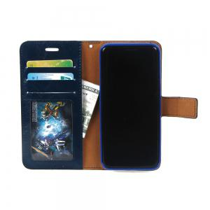 Detachable PU Leather Flip Folio Cover Case with Credit Holder Built-in Card Slots for Samsung Galaxy S8 -