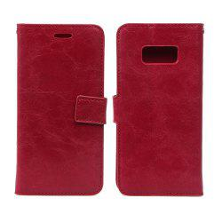 Detachable PU Leather Flip Folio Case with Credit Holder Built-in Card Slots for Samsung Galaxy S8 Plus -