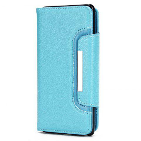 Shops 2 in 1 Magnetic Detachable Lichee Pattern Case with Card Slots for iPhone X