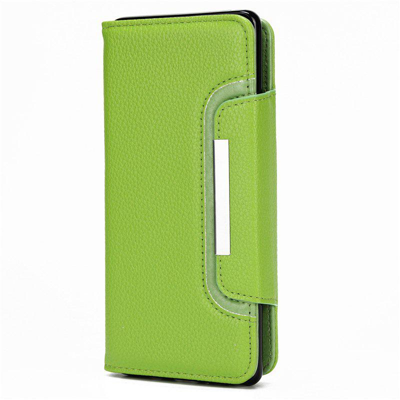 Store 2 in 1 Magnetic Detachable Lichee Pattern Case with Card Slots for iPhone X