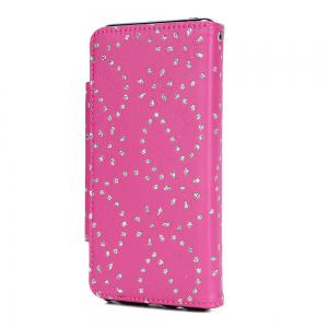 2 in 1 Magnetic Detachable Glitter Pigment Phone Case with Card Slots for Samsung Galaxy Note 8 -