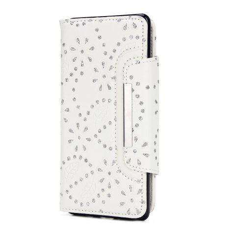 New 2 in 1 Magnetic Detachable Glitter Pigment Phone Case with Card Slots for Samsung Galaxy Note 8