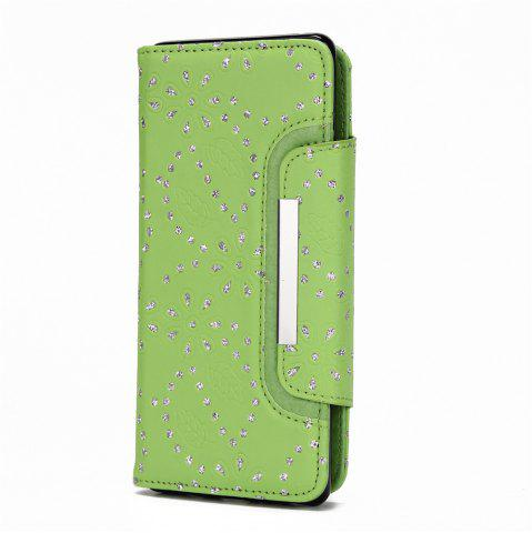 Latest 2 in 1 Magnetic Detachable Glitter Pigment Phone Case with Card Slots for Samsung Galaxy Note 8