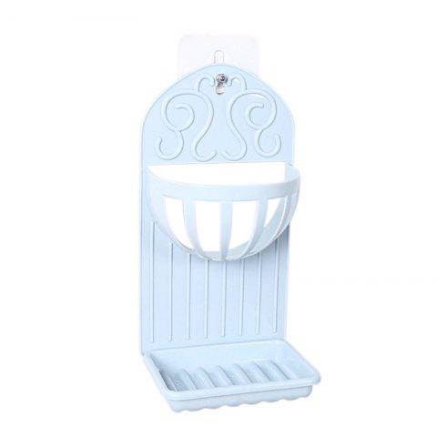 Fashion Soap Holder Simple Solid Color Draining Storage Rack