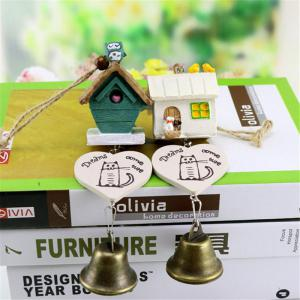 Small House Wind Chimes for Home Hanging Decoration -