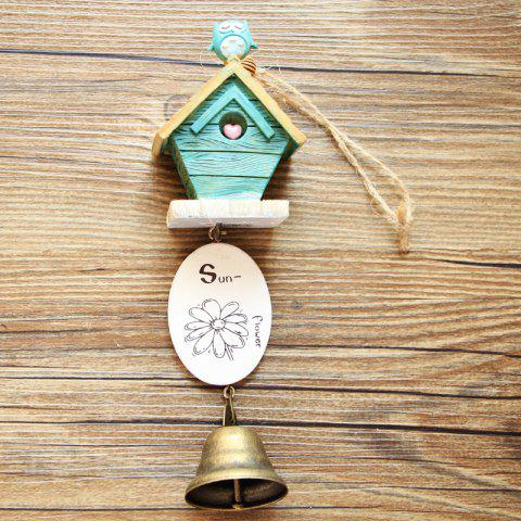 Fashion Small House Wind Chimes for Home Hanging Decoration