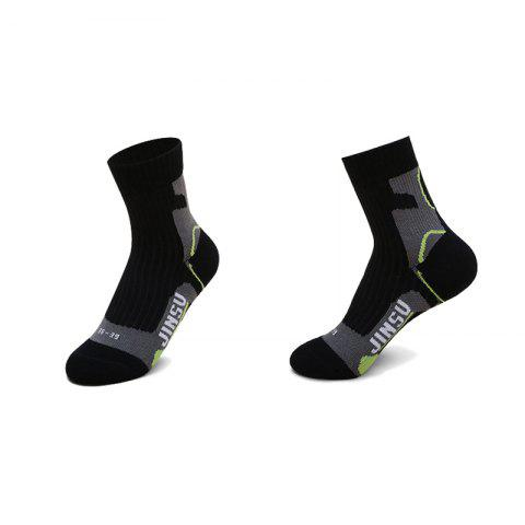 Unique Male High Elasticity Antishock Running Socks