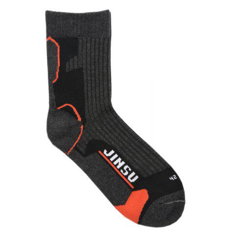 Chic Male High Elasticity Antishock Running Socks