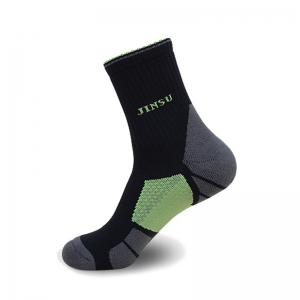 Half Terry Shockproof High Elasticity Cotton Running Socks -