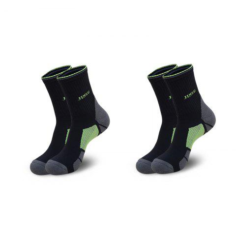 Unique Half Terry Shockproof High Elasticity Cotton Running Socks