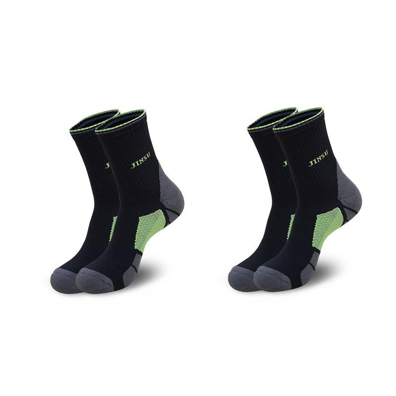 Outfits Half Terry Shockproof High Elasticity Cotton Running Socks