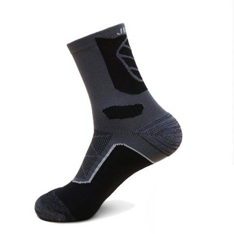 Trendy Half Terry Shockproof High Elasticity Riding Socks
