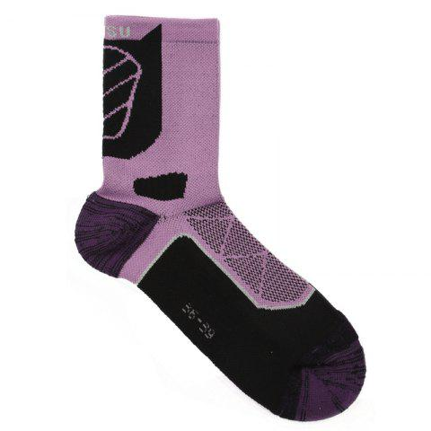 Chic Half Terry Shockproof High Elasticity Riding Socks