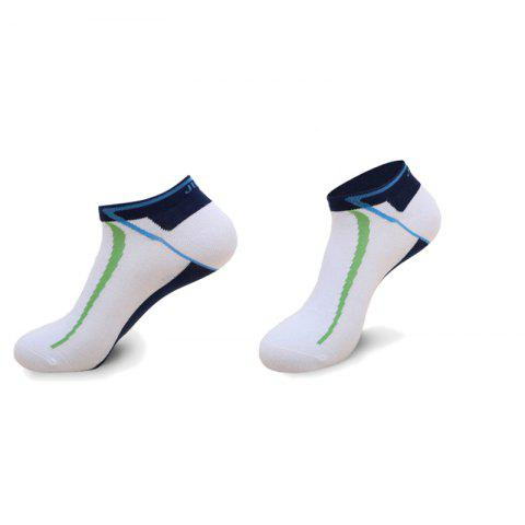 Buy Pure Cotton Sweat Absorption Short Cylinder Riding Socks