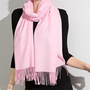 Autumn and Winter Fashion Simple Street Style Characteristics Tassel Long Scarf -