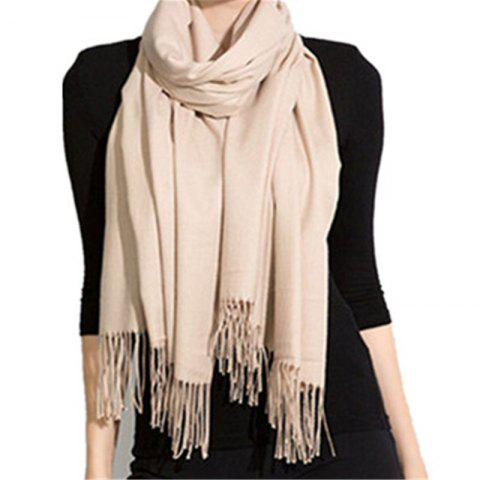 Hot Autumn and Winter Fashion Simple Street Style Characteristics Tassel Long Scarf