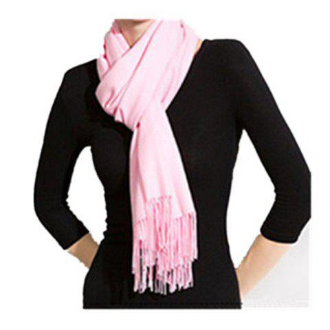 Affordable Autumn and Winter Fashion Simple Street Style Characteristics Tassel Long Scarf