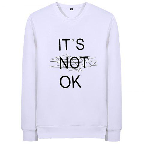 Lettres pour hommes Casual Air Sweatershirt