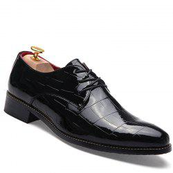 Hommes Business Gentle robe de mariage officiel britannique Casual Shoes -
