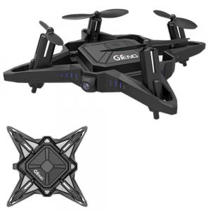 Mini Foldable Drone with Camera FPV Quadcopter Gteng T911W Hover Auto Take Off / Landing -