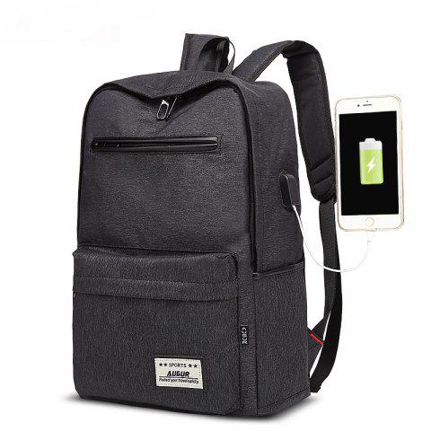 Latest AUGUR Design Backpacks Multifunction USB Charging Men  Casual Travel Teenager Student School Bags