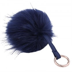 Creative Hair Ball Multi-color Key Ring Girls Package Pendant -