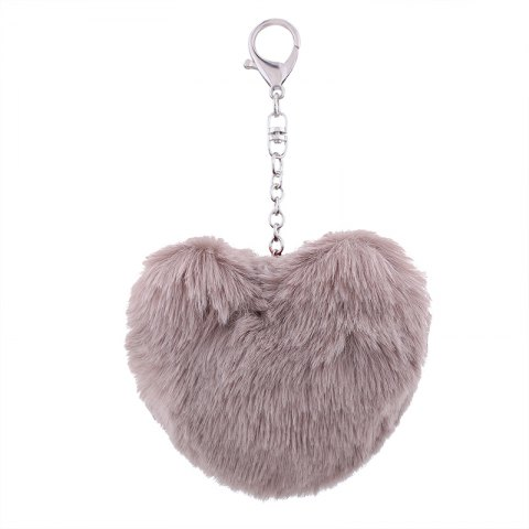 Chic Love Plush Multi-style Girls Bag Pendant Accessories Key Ring