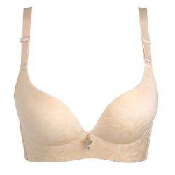 Seamless Underwear Adjust The Gathered Bra -