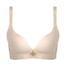 A Piece of Traceless Simple Bra Seamless Underwear -