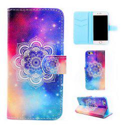Mobile Phone Protective Sleeve Colorful Map for iPhone 7 -
