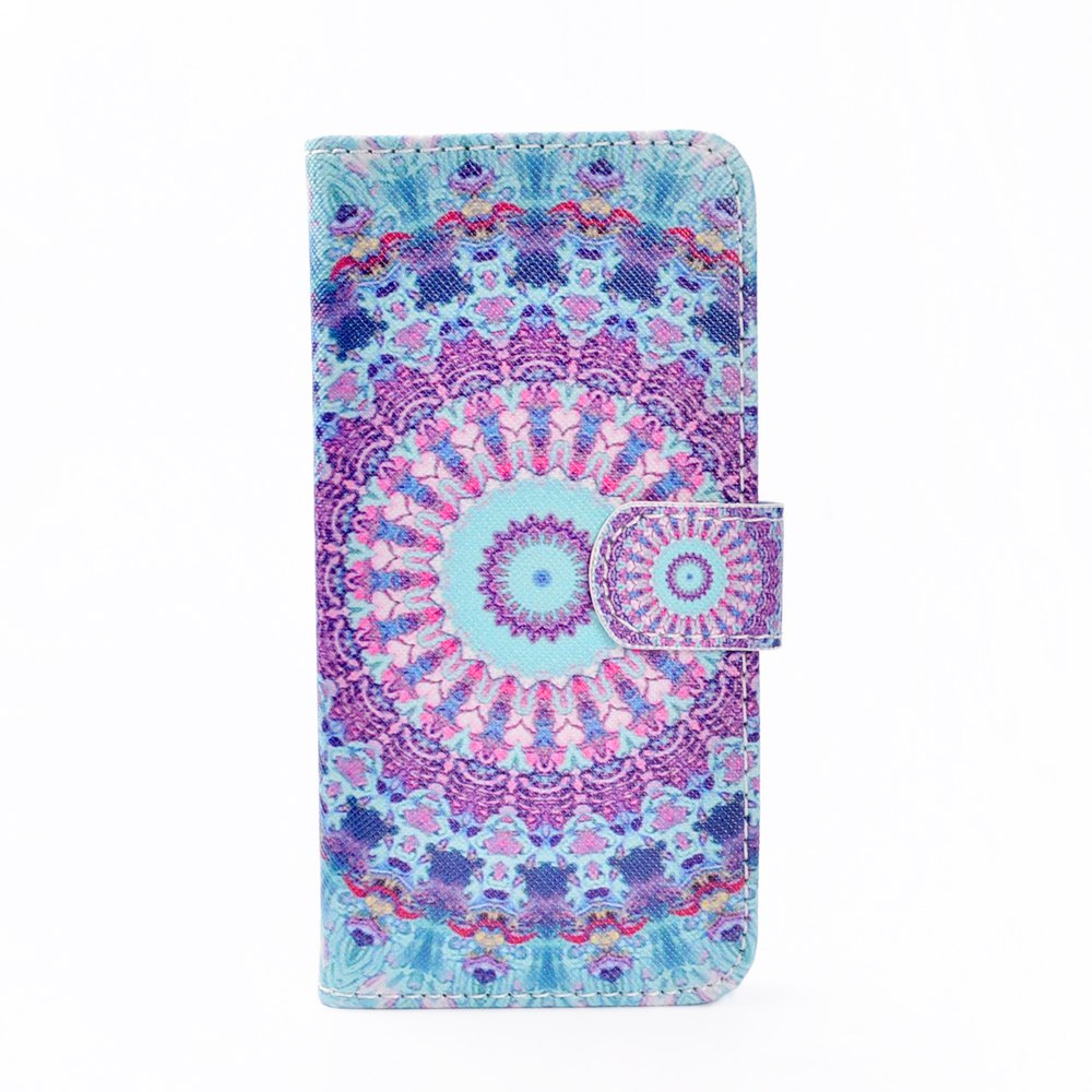 Fancy Mobile Phone Protective Sleeve Colorful Map for iPhone 7