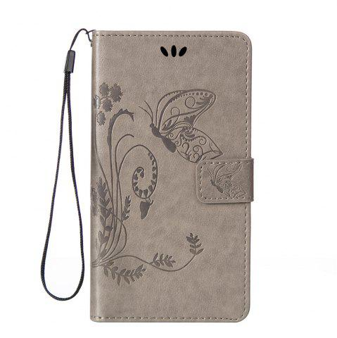 Chic Embossed Butterfly Mobile Phone Protective Cover for Samsung S7 Edge