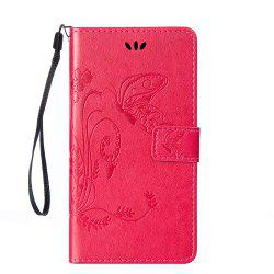 Embossed Butterfly Mobile Phone Protective Cover for Samsung S7 Edge -