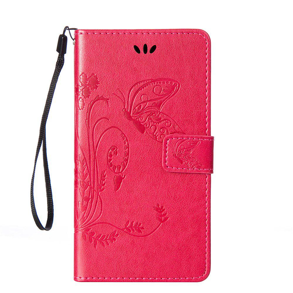 Online Embossed Butterfly Mobile Phone Protective Cover for Samsung S7 Edge