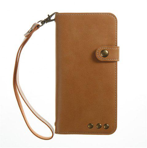 Affordable Crazy Ma Wallet Mobile Phone Holster Cases for iPhone 7