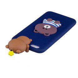 Three-Dimensional Lie Prone Bumpers Case for Samsung S8 Plus -