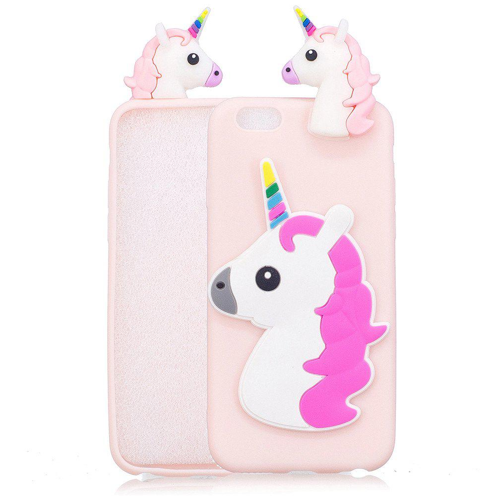 Outfits Three-Dimensional Lie Prone Bumpers Case for Samsung S8 Plus