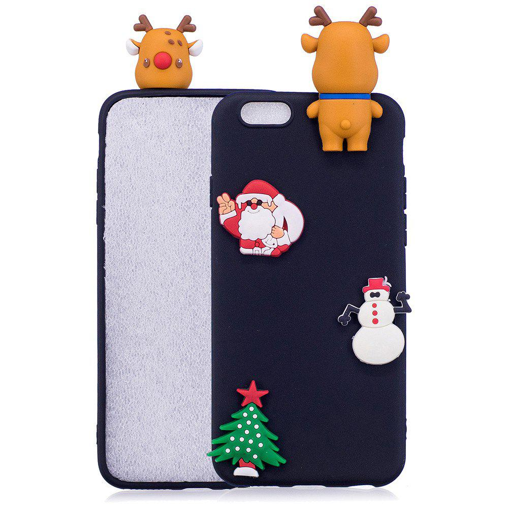 Outfits Christmas Lie Prone Bumpers Case for iPhone 6