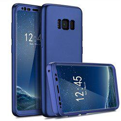 Luxury Slim Full Body Flexible TPU Drop Protection Tactile Grip Case Cover Guard for Samsung Galaxy S8 Plus -