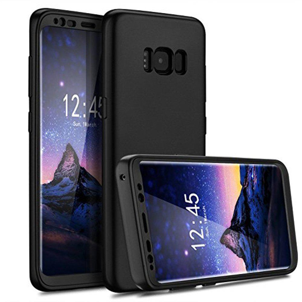 Best Luxury Slim Full Body Flexible TPU Drop Protection Tactile Grip Case Cover Guard for Samsung Galaxy S8 Plus