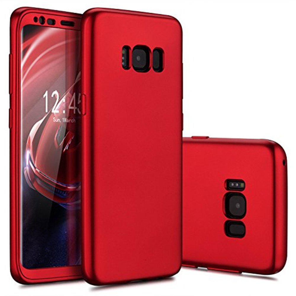Trendy Luxury Slim Full Body Flexible TPU Drop Protection Tactile Grip Case Cover Guard for Samsung Galaxy S8 Plus