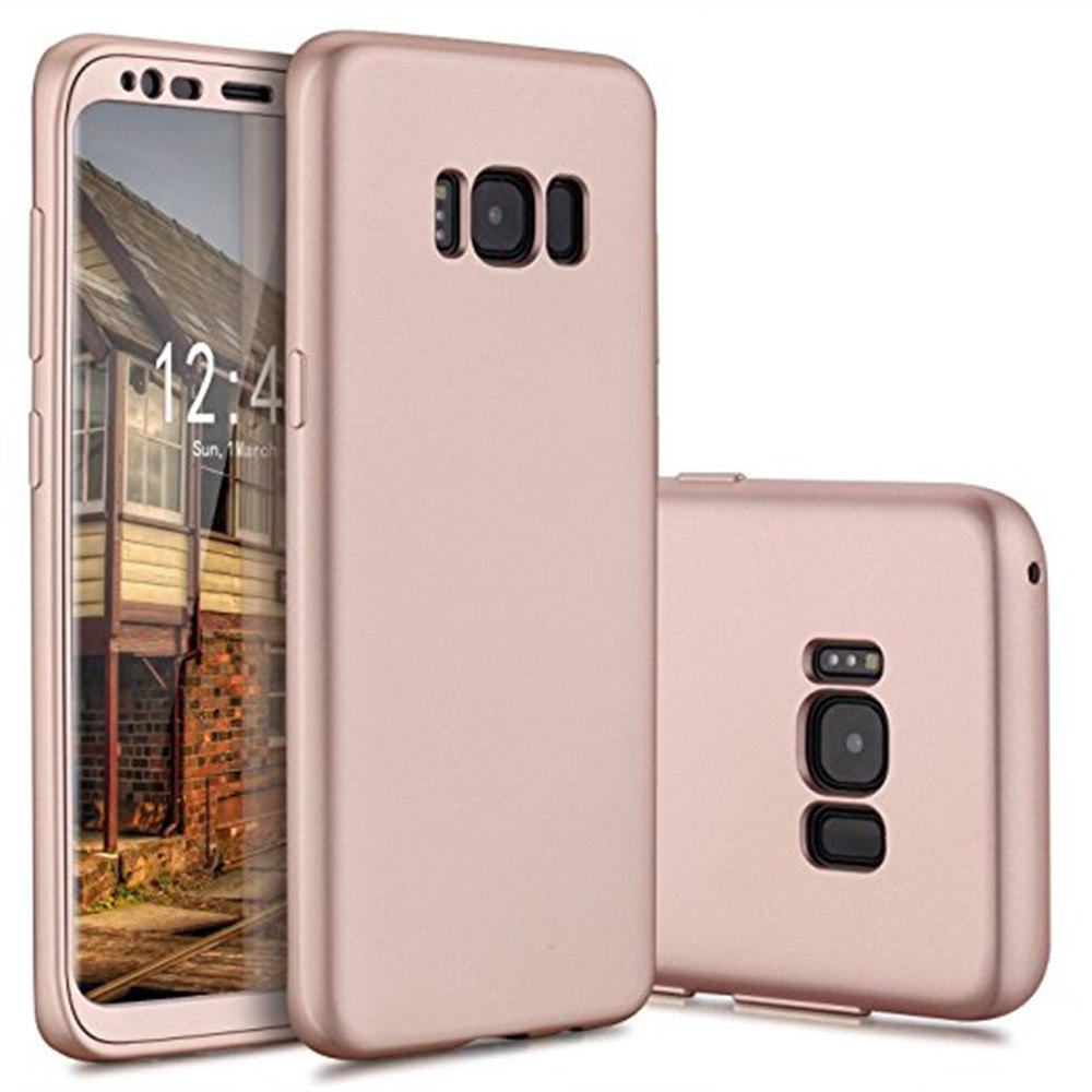 Unique Luxury Slim Full Body Flexible TPU Drop Protection Tactile Grip Case Cover Guard for Samsung Galaxy S8 Plus