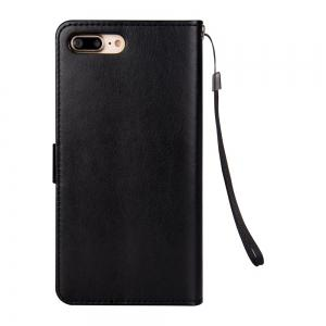 Slender Hand PU Leather Dirt Resistant Phone Case for iPhone 8 Plus -