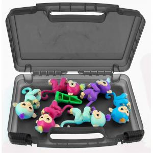 Storage Organizer Fits 6 Interactive Monkeys Durable Carrying Case -