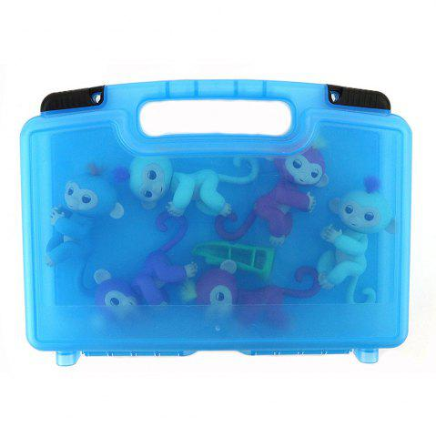Chic Storage Organizer Fits 6 Interactive Monkeys Durable Carrying Case