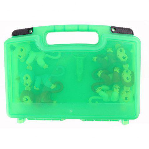 Hot Storage Organizer Fits 6 Interactive Monkeys Durable Carrying Case