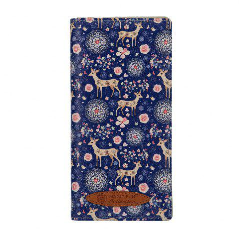 Buy Colorful Personality and Simple Cartoon Pattern Leather Wallet