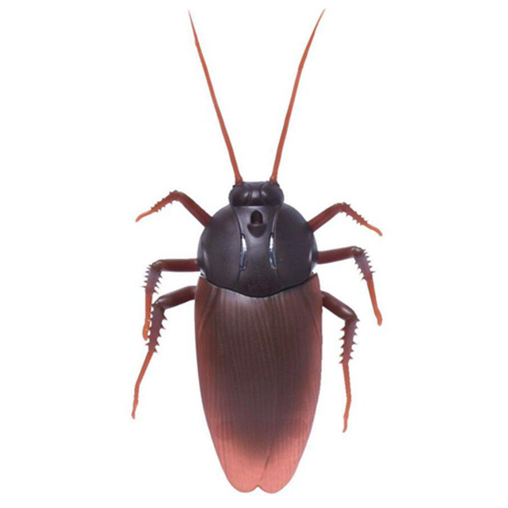 Shop Remote Control Realistic Fake Cockroach RC Prank Toys Insects Joke Scary Trick