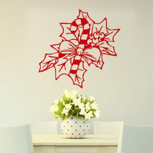 DSU Merry Christmas Leaf Wall Art Decal Vinyl Sticker Removable Decor -